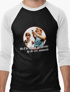 Thelma And Louise Margaritas by the sea Men's Baseball ¾ T-Shirt
