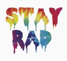 STAY RAD TIE DYE Kids Tee