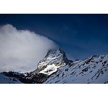 Clouds on The Matterhorn 3 Photographic Print
