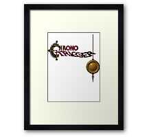 Chrono Trigger (Snes) Title Screen Framed Print