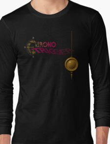 Chrono Trigger (Snes) Title Screen Long Sleeve T-Shirt