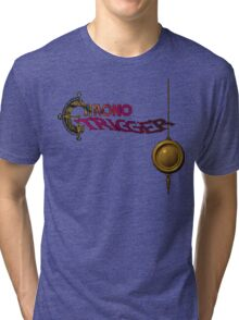 Chrono Trigger (Snes) Title Screen Tri-blend T-Shirt