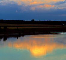 SKY REFLECTIONS by Madeline M  Allen