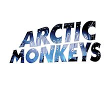 Arctic Monkey Glow Photographic Print