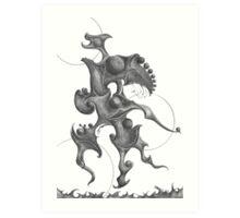 Cradled Orbs Art Print