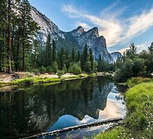 Three Brothers, Yosemite National Park by Robert Darby
