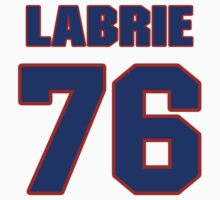 NHLS09698 Hockey player Pierre-Cedric Labrie jersey 76 by imsport