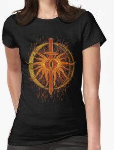 Sauron's Inquisition Womens Fitted T-Shirt