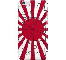 Rising Sun puzzle iPhone Case/Skin