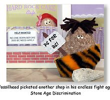 Stone Age Discrimination by rockbottom