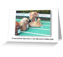 Pebble Dash Greeting Card