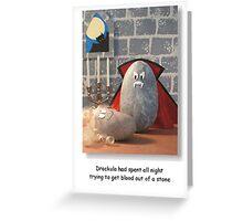 Drockula Greeting Card