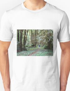The mysteries of Fossli Park forest . T-Shirt