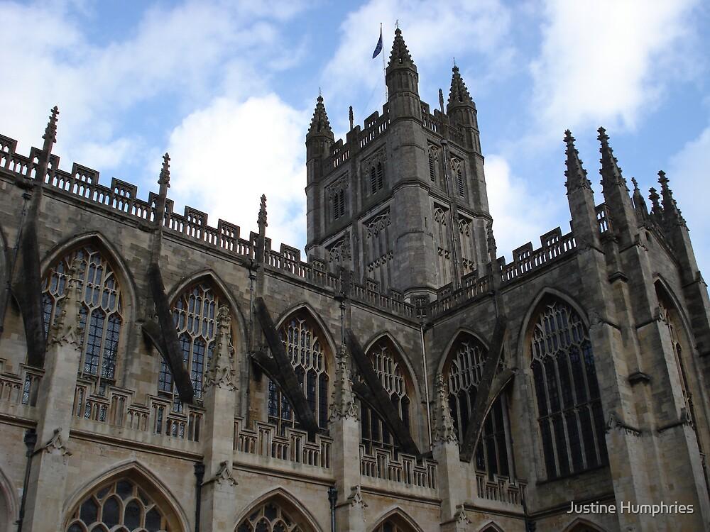 Bath Abbey II by Justine Humphries