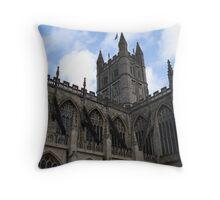 Bath Abbey II Throw Pillow