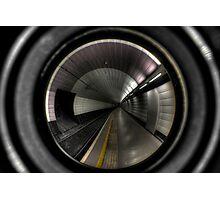 Newcastle Haymarket Metro Station Photographic Print