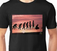 "Evolution on ""Pause"" Unisex T-Shirt"