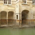 Steamy Roman Baths by Justine Humphries