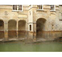 Steamy Roman Baths Photographic Print