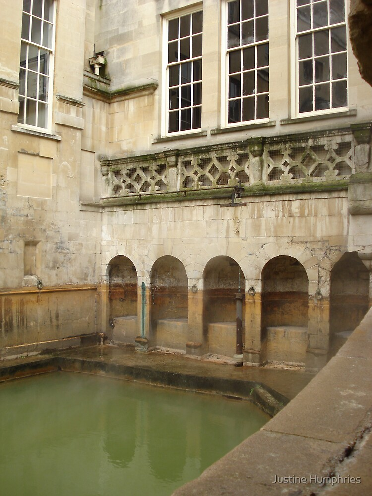 The green and warm waters of Bath by Justine Humphries