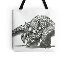The Red Pandolin Tote Bag