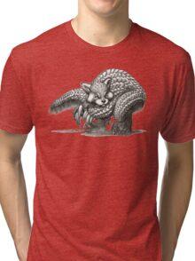 The Red Pandolin Tri-blend T-Shirt