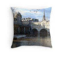 Bath - England Throw Pillow
