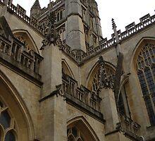 Bath Abbey by Justine Humphries