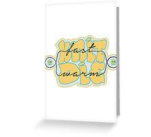 Knit Fast - Die Warm Greeting Card