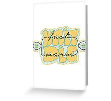Knit Fast - Die Warm Greeting Card