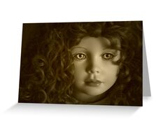 Shelby in Sepia Greeting Card