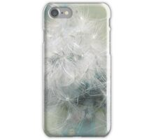 Fluffs of dandelion iPhone Case/Skin