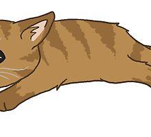 Tired Kitten by Leylaleya