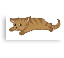 Tired Kitten Canvas Print