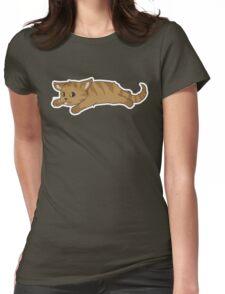 Tired Kitten Womens Fitted T-Shirt