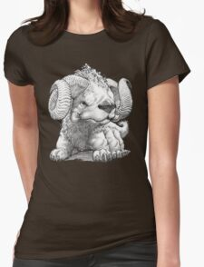 The South Highland Ram Dog Womens Fitted T-Shirt
