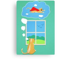 Cats Just Wanna Have Fun Canvas Print