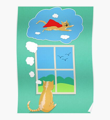 Cats Just Wanna Have Fun Poster