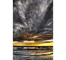 Metallic Sunset Photographic Print