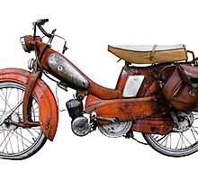 Vintage French Motobecane Moped by mrdoomits