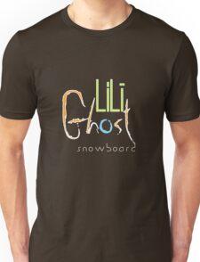 LiLi Ghost - Snow Board - V2 Unisex T-Shirt