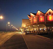 Boardwalk at Night by AnneRN