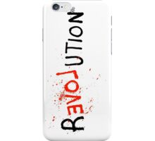 rEVOLution! iPhone Case/Skin