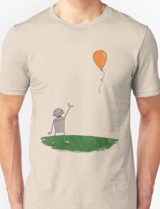 Sad Robot - The Balloon T-Shirt