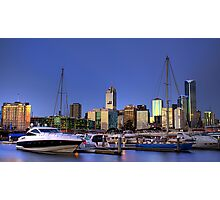 Melbourne from Victoria Harbour Photographic Print