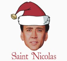 Saint Nicolas Cage Christmas  by darthfader