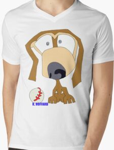 Fetch Mens V-Neck T-Shirt