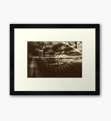 let me out Framed Print