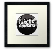 Arctic Monkeys Circle Framed Print