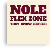 Nole Flex Zone Canvas Print